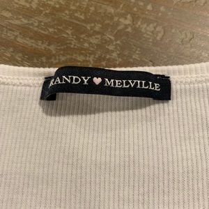 Brandy Melville Tops - Brandy Melville Long Sleeve White Top